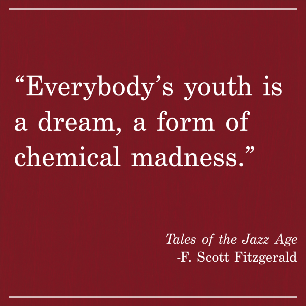 Daily Quote Tales of The Jazz Age by F. Scott Fitzgerald