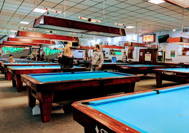 We have plenty of tables at Gotham City Billiards! Show us your game tonight!