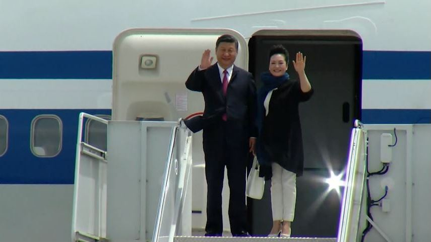 Jinping and first lady.JPG