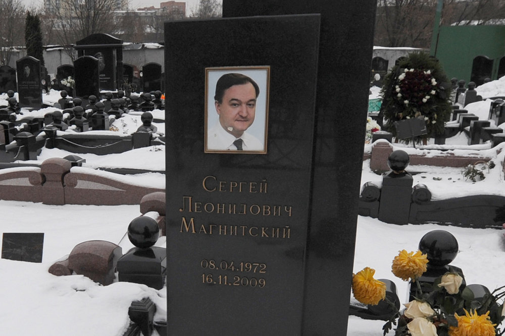 Sergei Magnitsky was 35 years old when he was arrested.