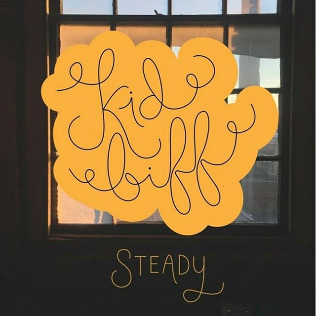 """It's New Music Friday! Start it off right with our first single """"Steady"""" off our upcoming EP, Serifs & Ligatures! We're so excited to finally be sharing these songs with all of you. Please give it a listen on iTunes or Spotify and let us know what you think! Link to Spotify in bio."""