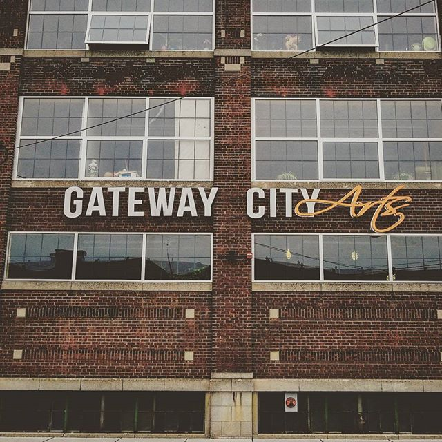 """Join us tonight at @gatewaycityarts where we'll be celebrating the release of our debut EP """"Serifs & Ligatures""""! We're so excited to share the stage with @americandreameraustin and hope to see all of you there!"""