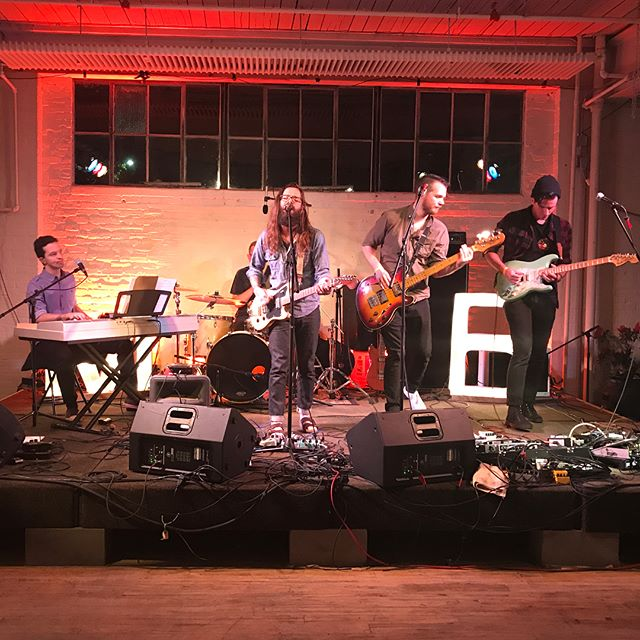 what a fantastic night last night with @matt_byrde and @wiseoldmoonband - thanks again @gatewaycityarts for having us!