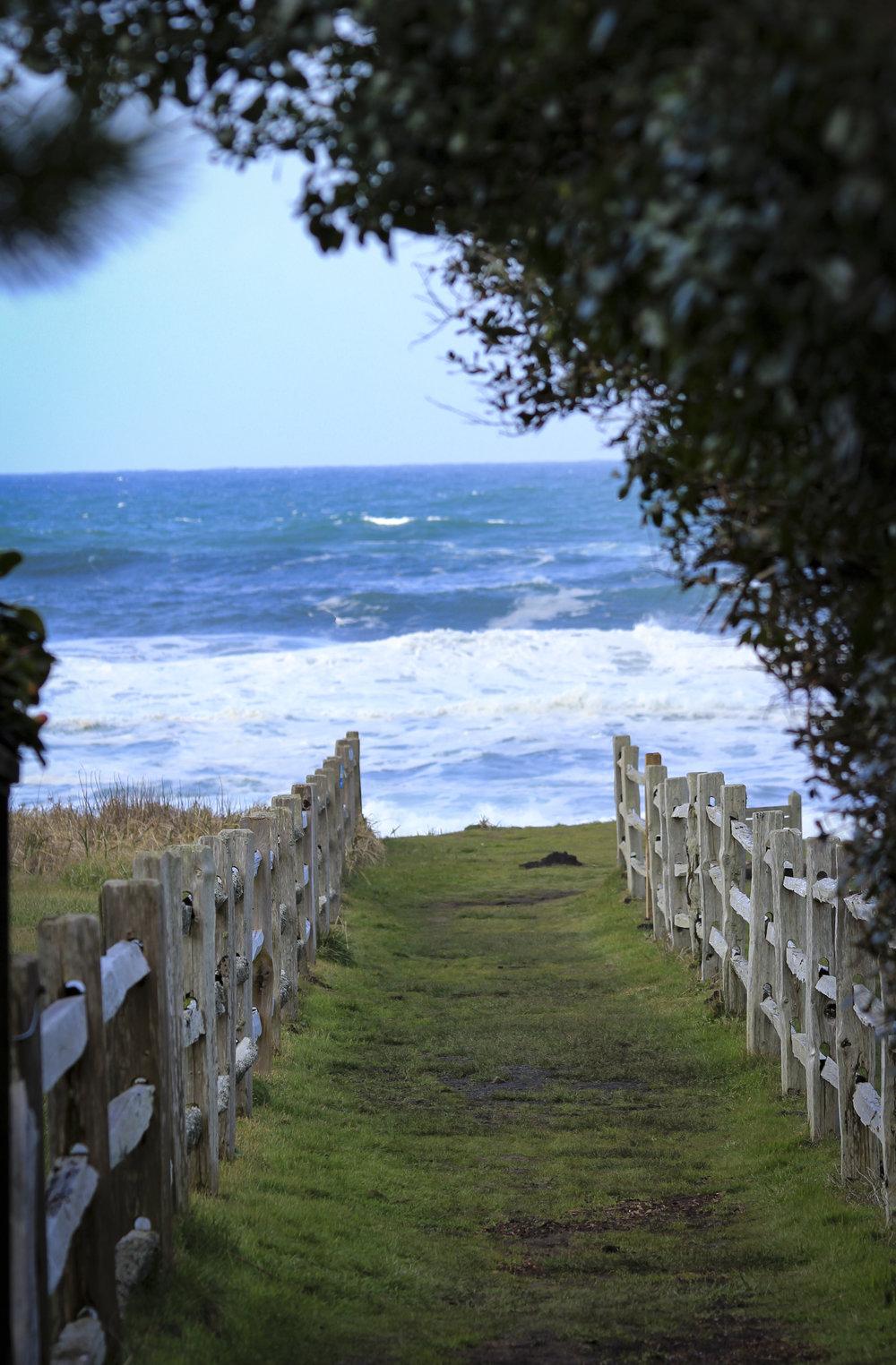 - ocean path