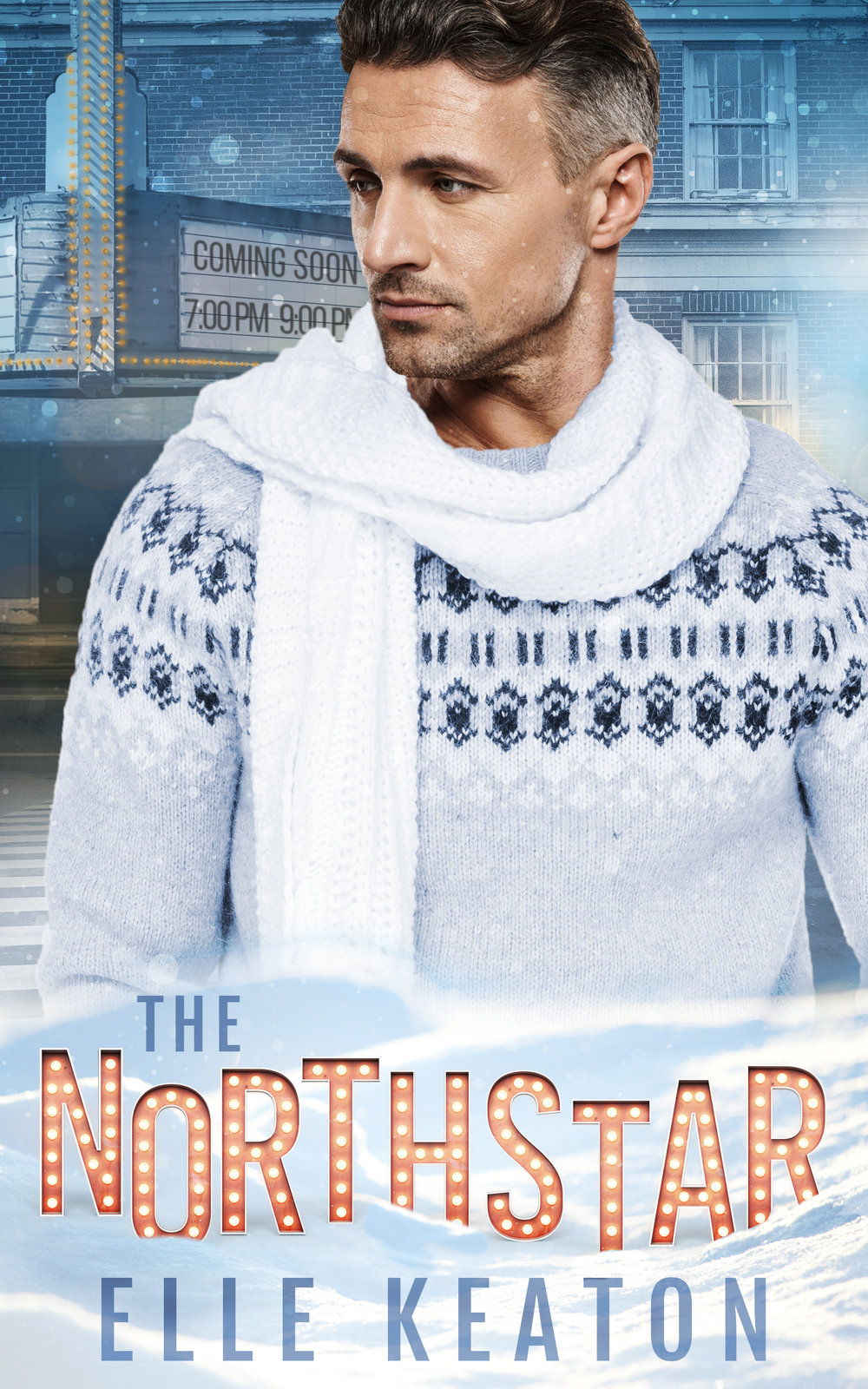 The NorthStar - The holiday season can't be over soon enough for John Hall. His ex-boyfriend emptied the bank accounts and ran off with his personal trainer months earlier leaving John unable to pay his creditors. Now he's forced to close the independent movie theater he runs, a bad end to a bad year. Gay and single, closer to fifty than forty, John doesn't see a lot of hope in his future. In the dark of night he wonders if staying afloat is worth the effort.Chance Allsop made a promise to his dying mother he hopes he doesn't regret. Ten months after her death he's finally in Skagit, Washington, visiting the old movie theater where his parents met and fell in love decades ago. The whole thing seems like a lark until he lays eyes on the handsome owner, with his mother's spirit at his back Chance fully intends to win John Hall's heart.