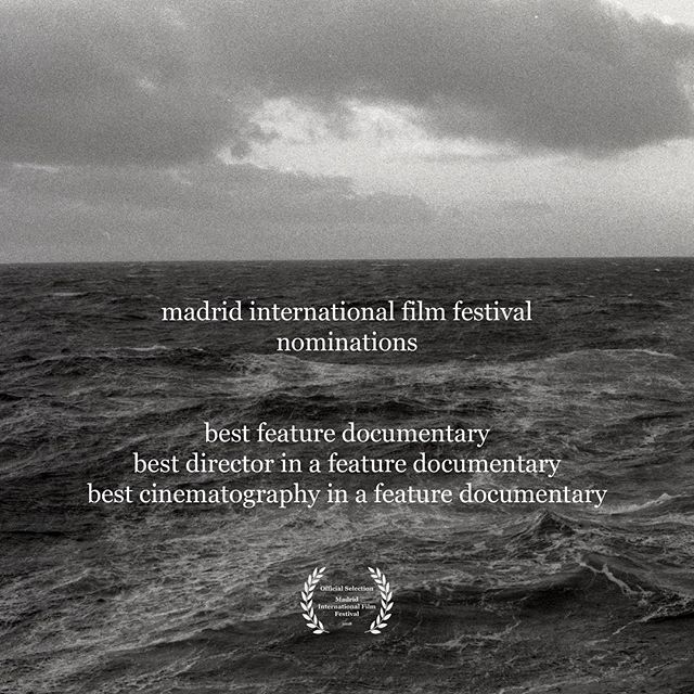 More news! Congrats to us in our continuing shameless self-promotion, but also to @colesternberg and @ericfosterdp for their nominations in direction and cinematography from the Madrid International Film Festival!