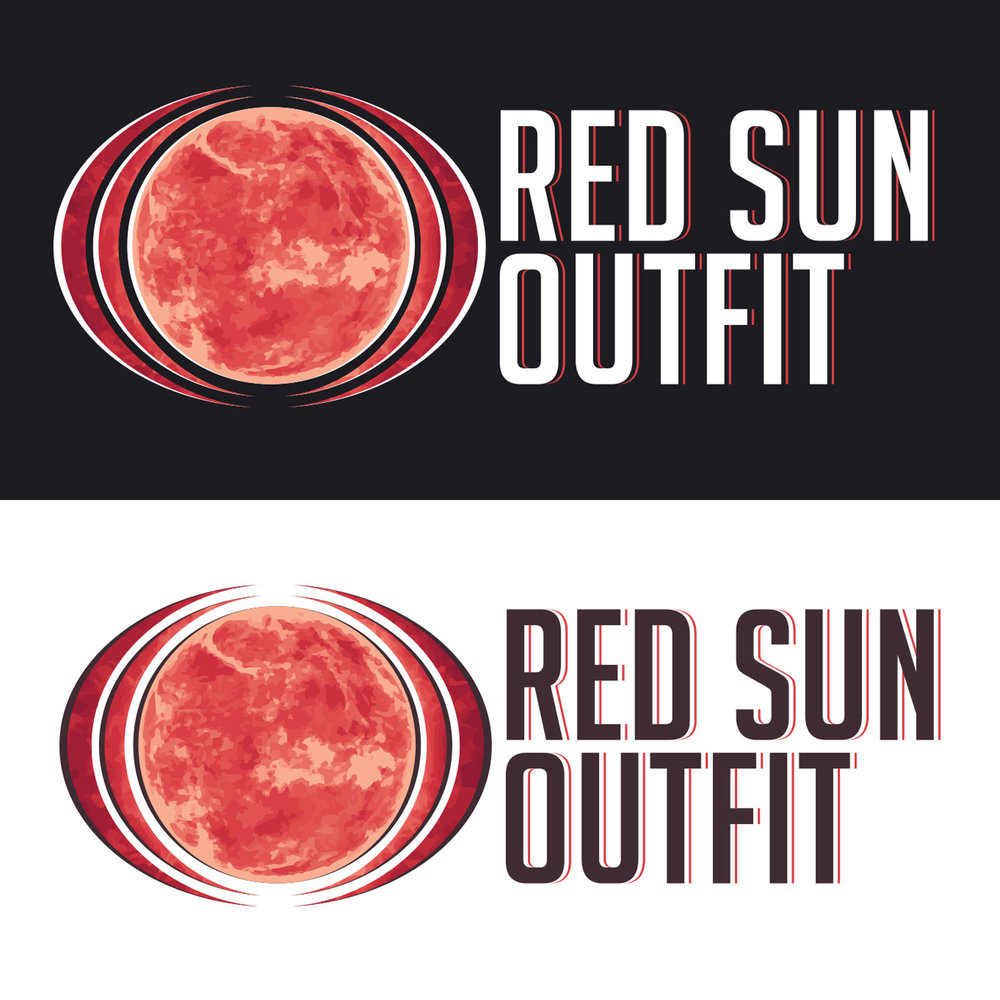 Red Sun Outfit branding