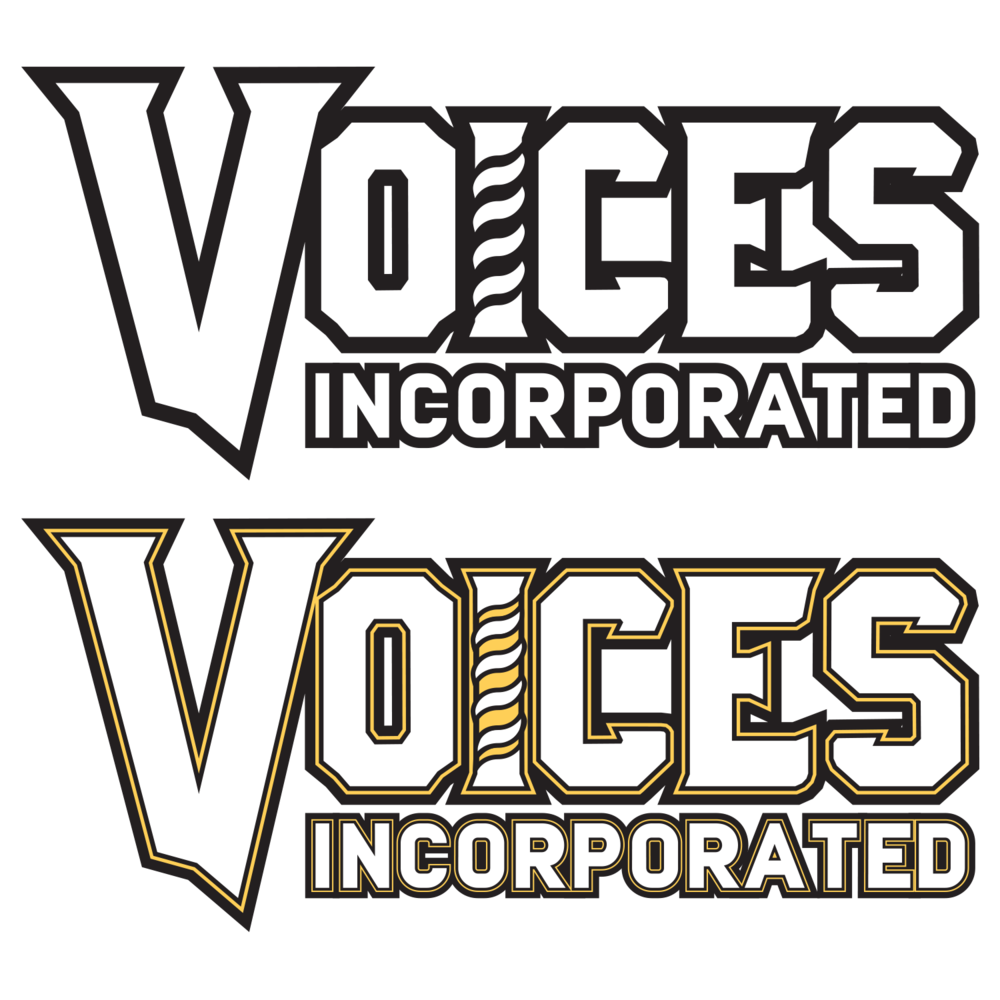 Voices Incorporated Chorus logotype