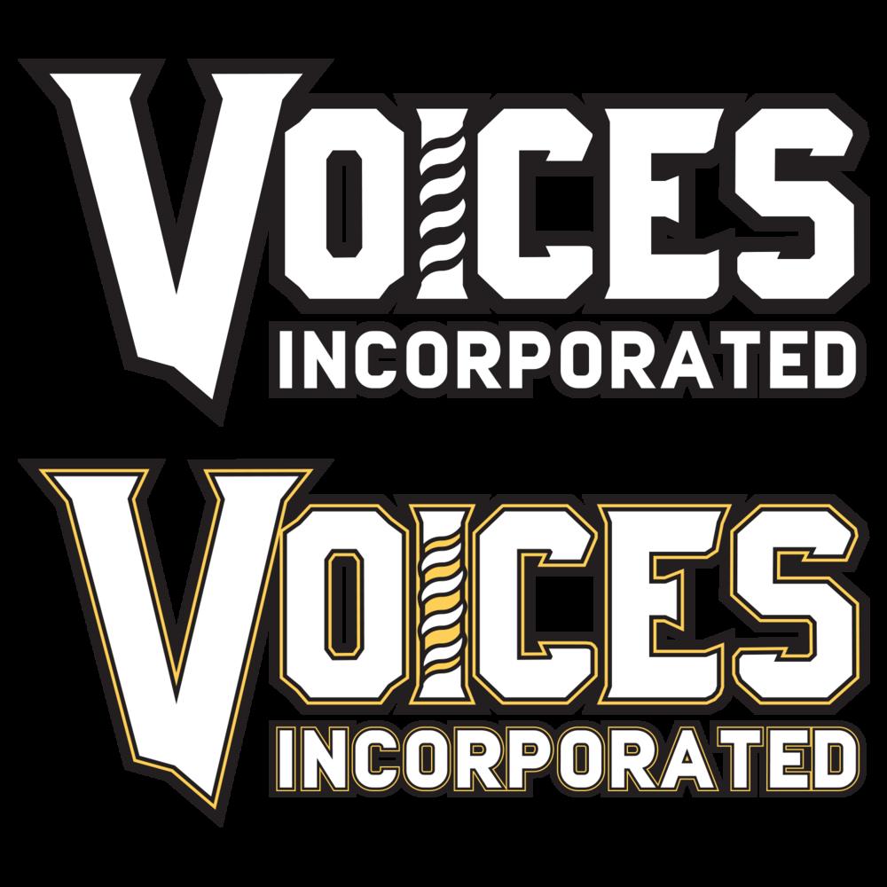 Voices Incorporated Chorus logotype