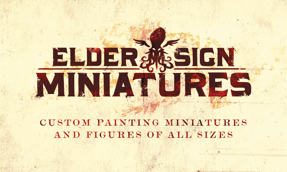 Elder Sign Miniatures branding
