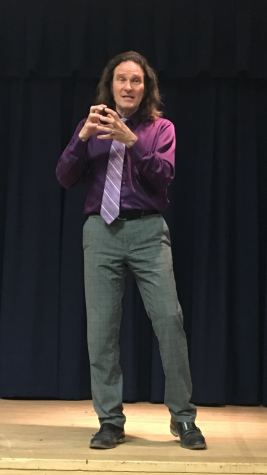 Storyteller Jonathan Kruk takes to the Lecture Hall stage to send us on a journey back in time.