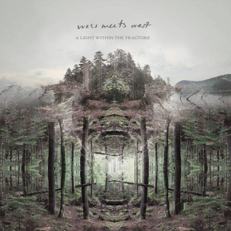 Album artwork for A Light Within the Fracture, Wess Meets West's new album.