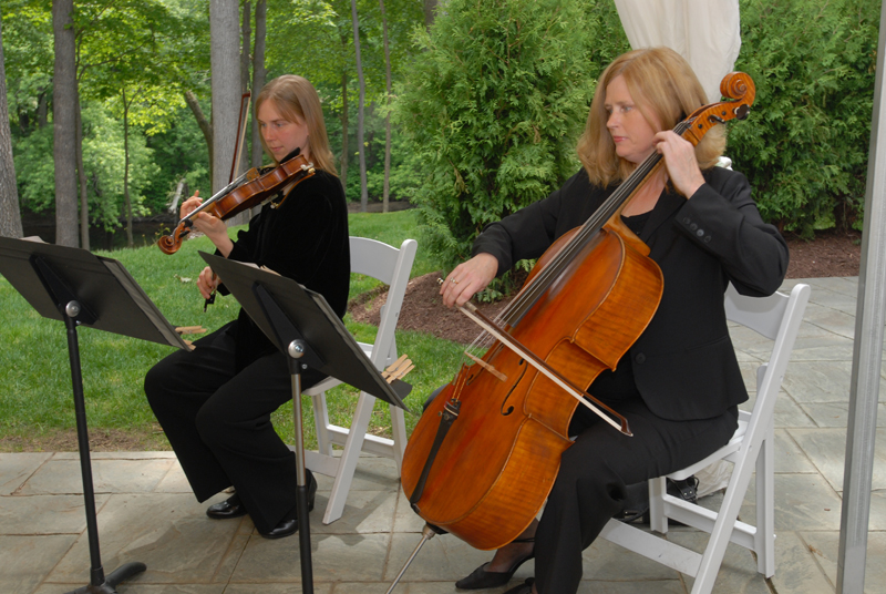 Violin & Cello Duo at the Riverview in Simsbury CT