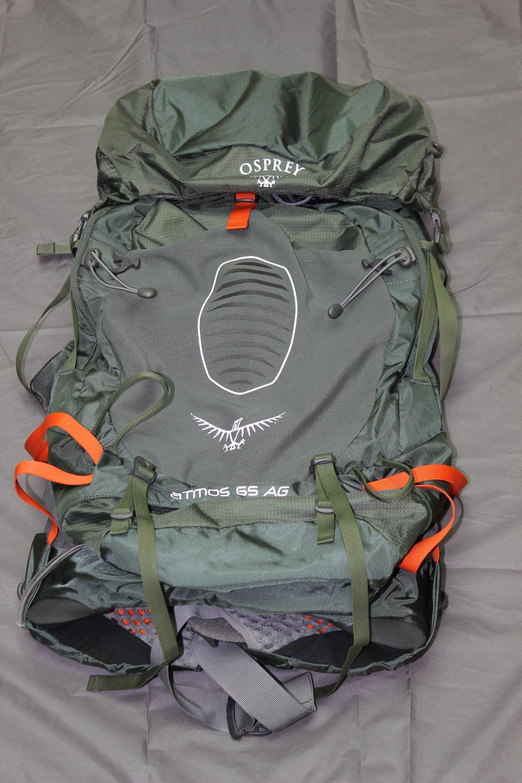 Osprey Atmos 65 AG - 65 Liters  4 lbs 6 oz