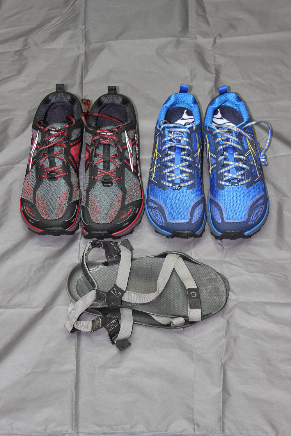 Altra Lone Peak 3.0 and 3.5  Xero Sandals