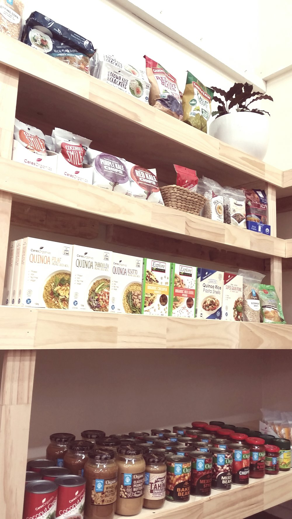 We stock the most nutritious and inspiring products for you and your family.