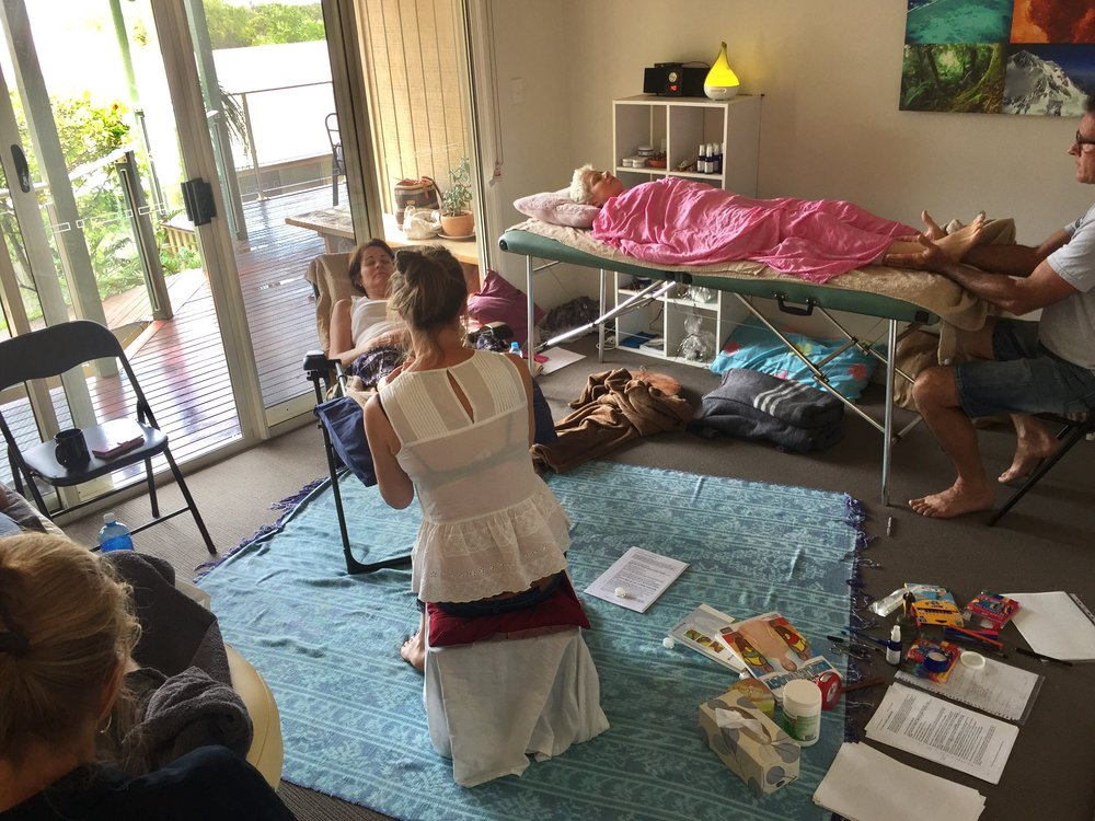 Reflexology Workshop Mount Coolum November 2017