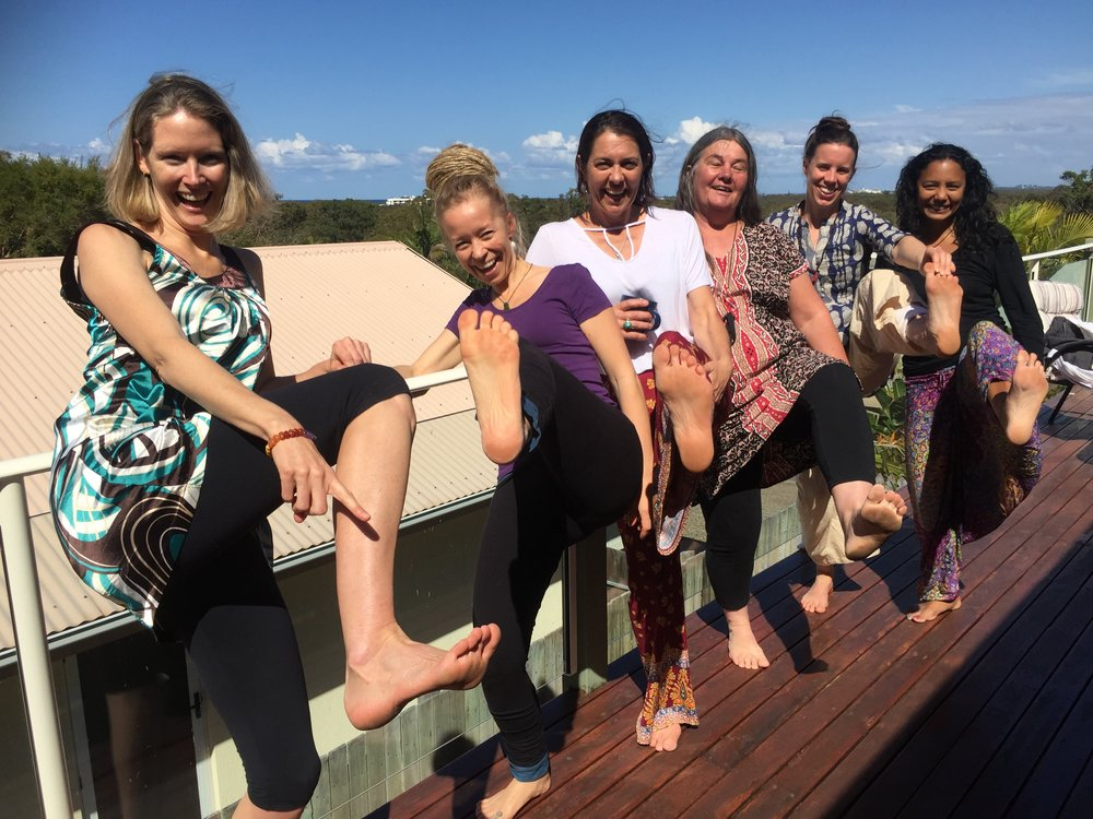 Reflexology Workshop weekend Mt Coolum 2018