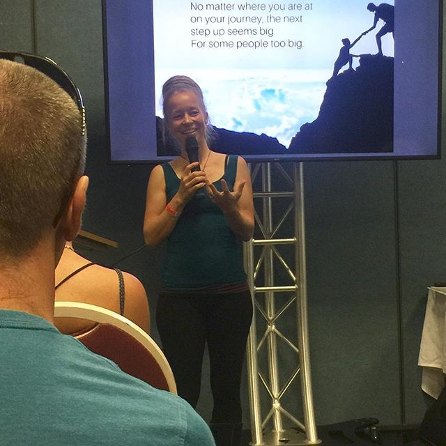 "Today was my first bigger event with my new business 'Sand Mew - Monetise Your Inner Calling' at the Conscious Life Festival at Kewana!  I've shared my story openly, not holding back any of the times that I used to want to forget about (like the one when we nearly went bankrupt 5 years ago). Things are very different now! Business is going well, I'm in my zone of genius and I'm able to help a lot of people in a more potent way than I ever thought possible before.  I now know in my deepest core that embracing the shadow, and acknowledging the yuck and triggery stuff is where it's at. It might not be the most comfortable, but certainly the most freeing.  So today I shared my ""4 Keys to monetise your inner Calling"", connected with Change Makers and those who are called to live their purpose and make a bigger impact, and cleared deep seated patterns and beliefs who have been keeping people stuck for years (lifetimes really!). So rewarding. Humbling. Heart wide opening. 💖  #consciouslifefestival #purpose #innercalling #thefootprintconnection #spiral #clearyourshit"