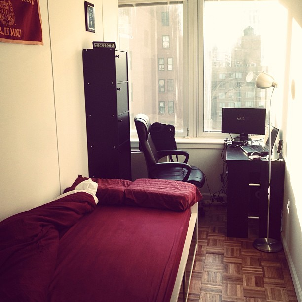 76 sq ft room in NYC