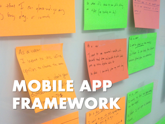 Mobile Application Framework