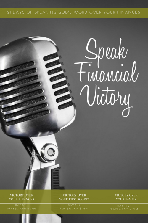SPEAKING GOD'S WORD OVER YOUR FINANCES AND FAMILY — Align Family