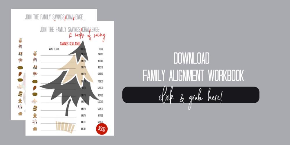 Free Family Alignment Workbook