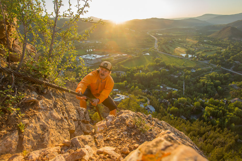 """Hike up Shadow Mountain is not easy. The climb down is hairy as well. Especially if you are coming down in the dark for the first time ever with out headlamps. Sometime you forget the important details when feeling the urge to send it to the """"spot"""" to get the """"shot"""""""