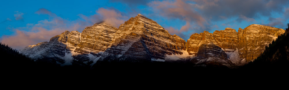 It's not a image representing movement per say but it does make me move. I have photographed this range the Maroon Bells so many time and I can get enough of this image. It hangs above my bed as a window to my outside.
