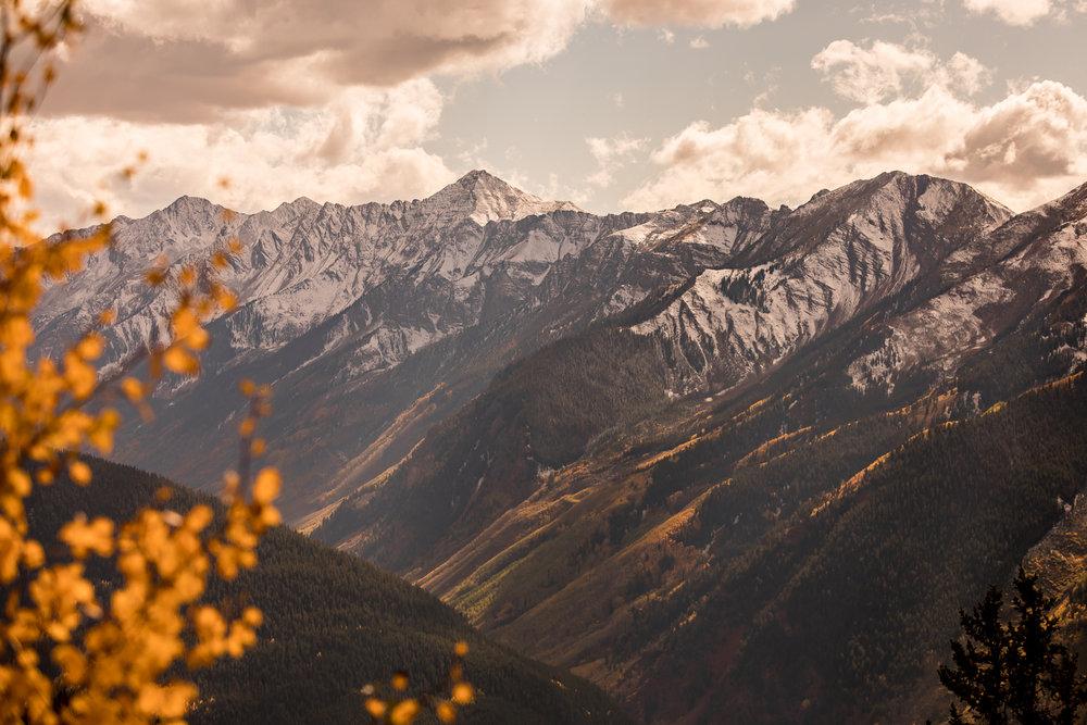 Castle Creek Valley, Aspen Colorado.