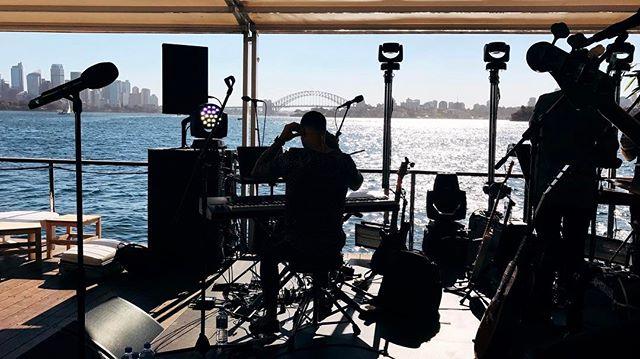 #calculatedmess #sydneyharbour #silhouette #guysebastian #theislandsydney #cinematography