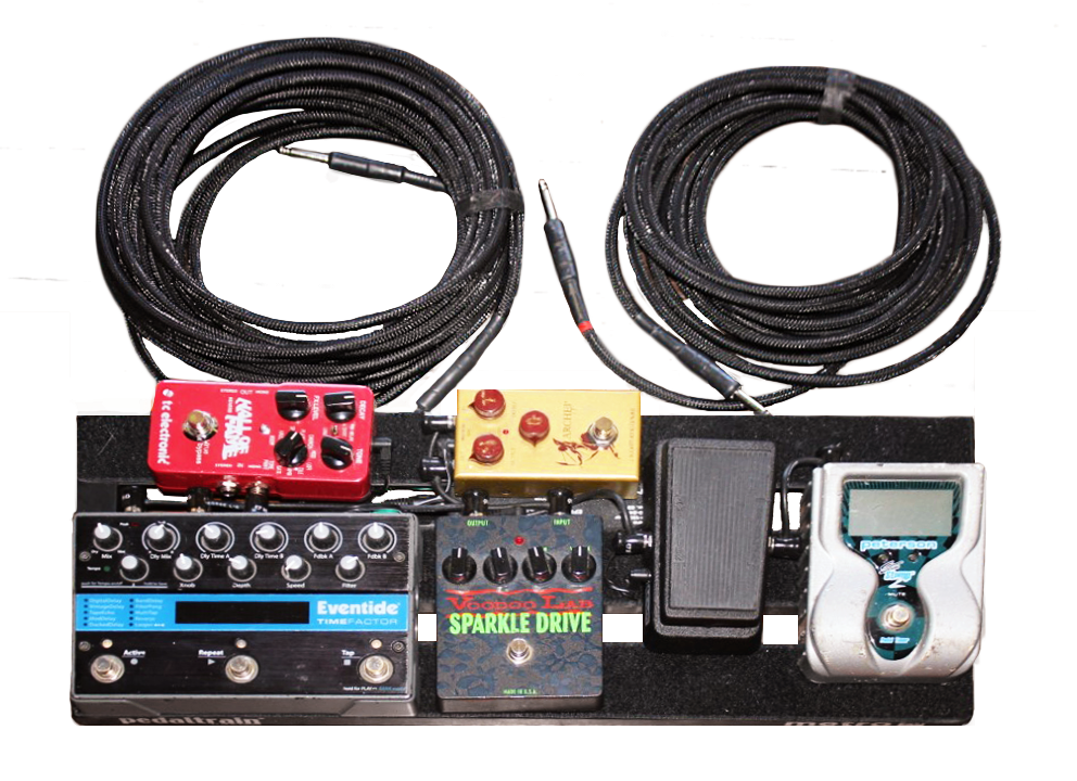 Electric Pedalboard