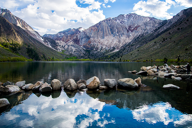 Convict Lake in Inyo National Forest, California. Photographed by Lillian Short.