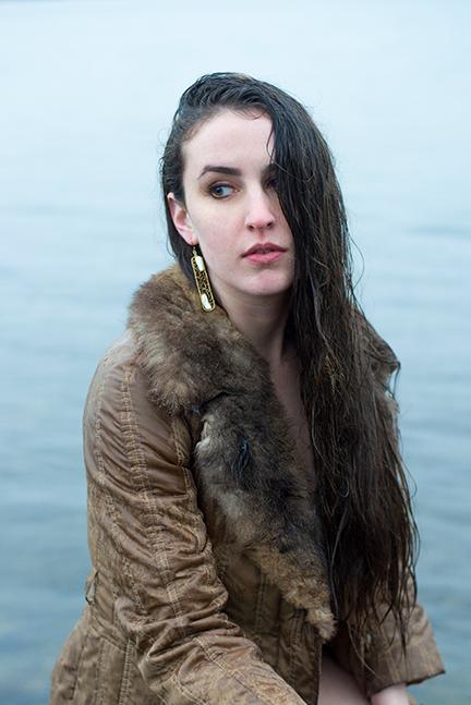 Model poses for photographer Lillian Short in Portland, Oregon.