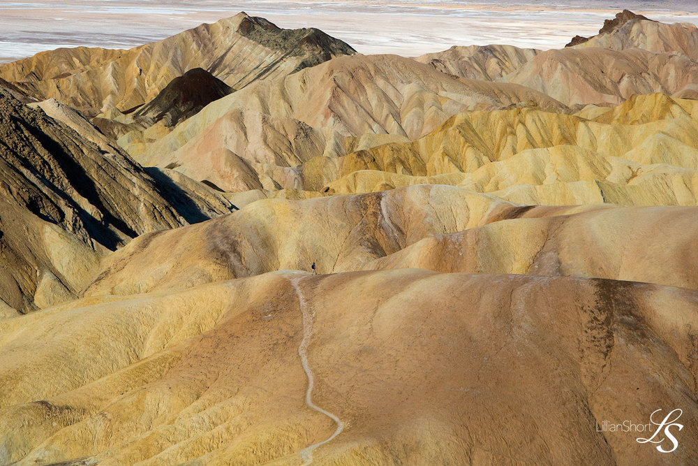 Death Valley National Park photographed by California photographer Lillian Short.
