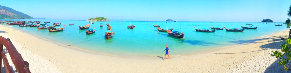 Sunrise Beach, Koh Lipe Thailand. Thailand's most beautiful island.