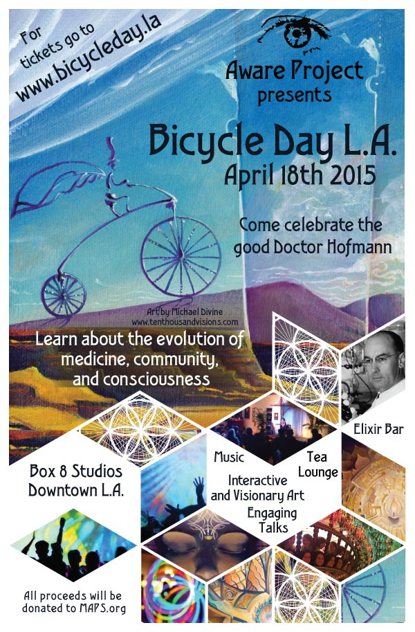 Bicycle Day LA - Psychedelic Awareness Salon - Aware Project: Rethinking