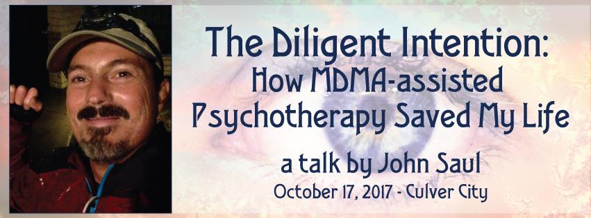 John Saul mdma psychotherapy PTSD Aware project