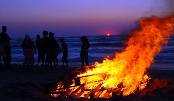 bonfire Aware Project San Diego