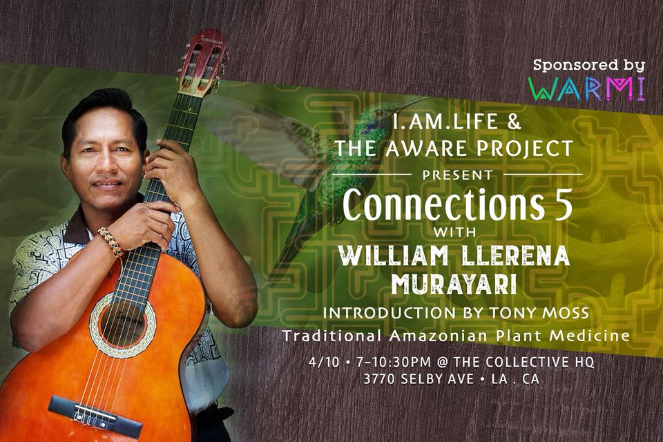 William llerena aware project ayahuasca