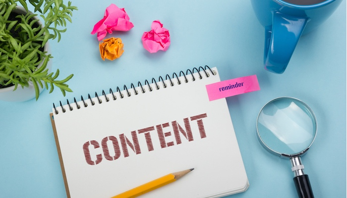 add content to your website