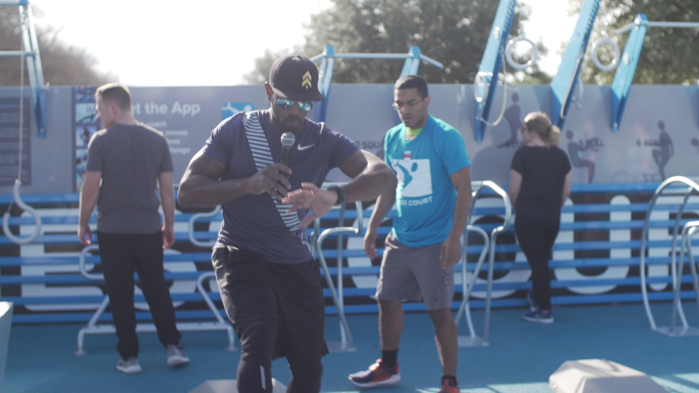 Activate Your Community - Opening your Fitness Court is just the start. Regular challenges, classes and app based promotions transform the Fitness Court into a community club.