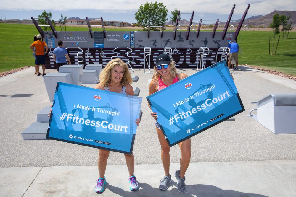 Fitness Court GO. Gina. Barbara..jpg