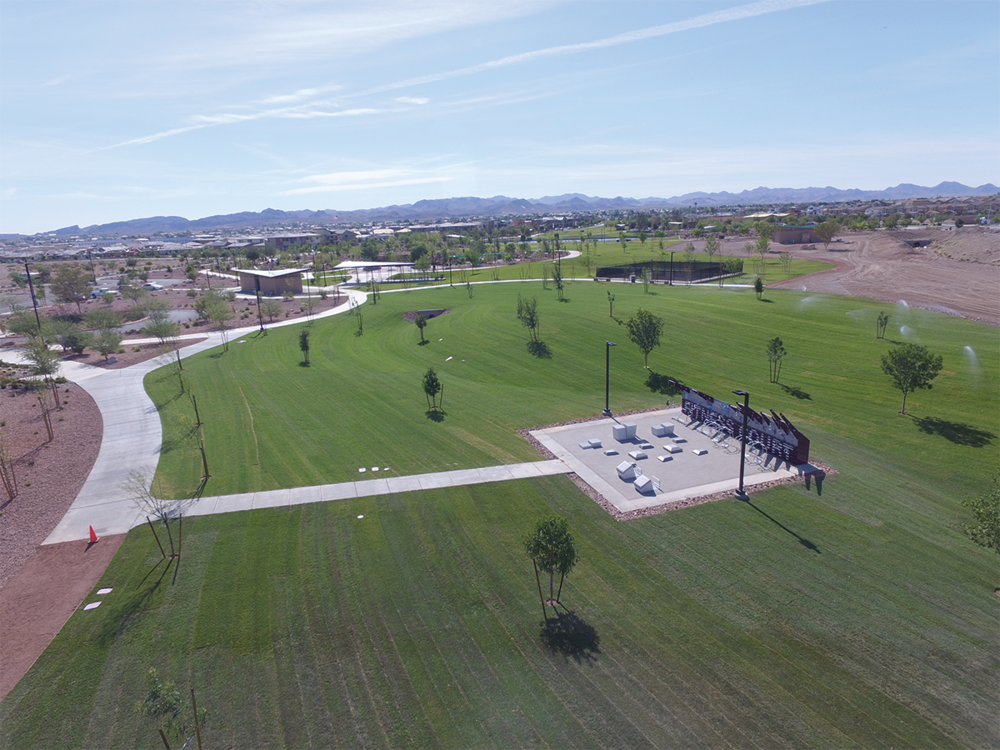 Cadence - A healthy oasis for an exclusive community a few miles from Las Vegas.