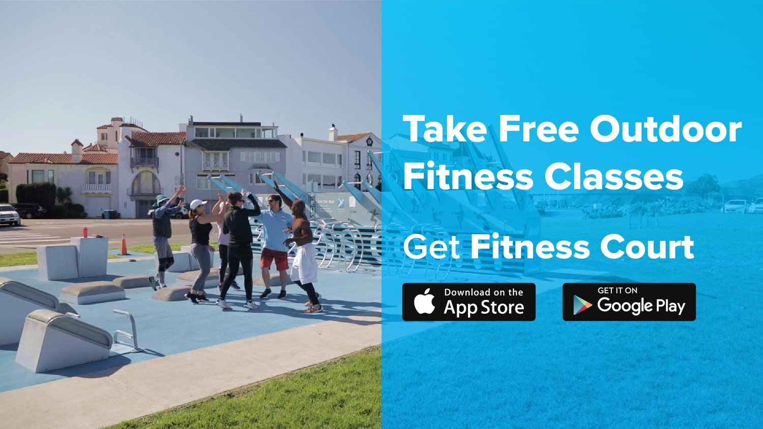 National Fitness Campaign | Fitness Court App 1
