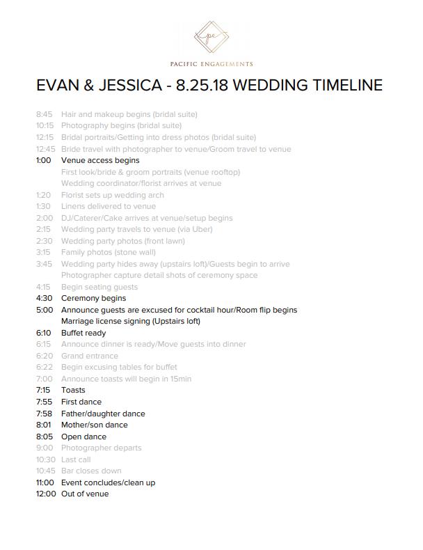 sample-wedding-timeline