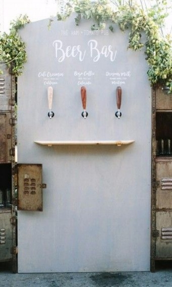 self-serve-bar-wedding