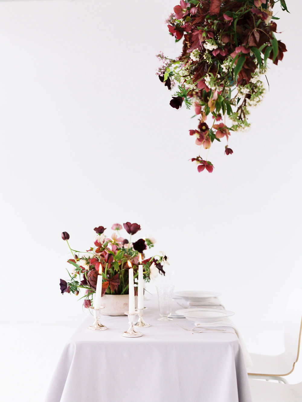 Purple Sweetheart Table