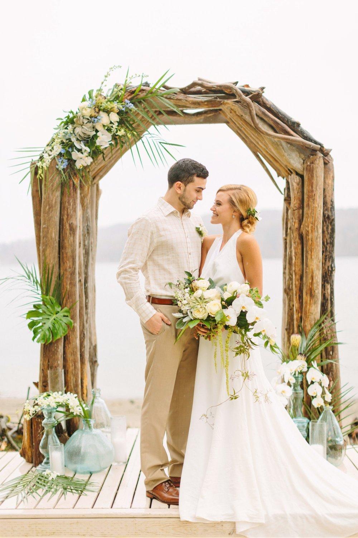The Edgewater House wedding