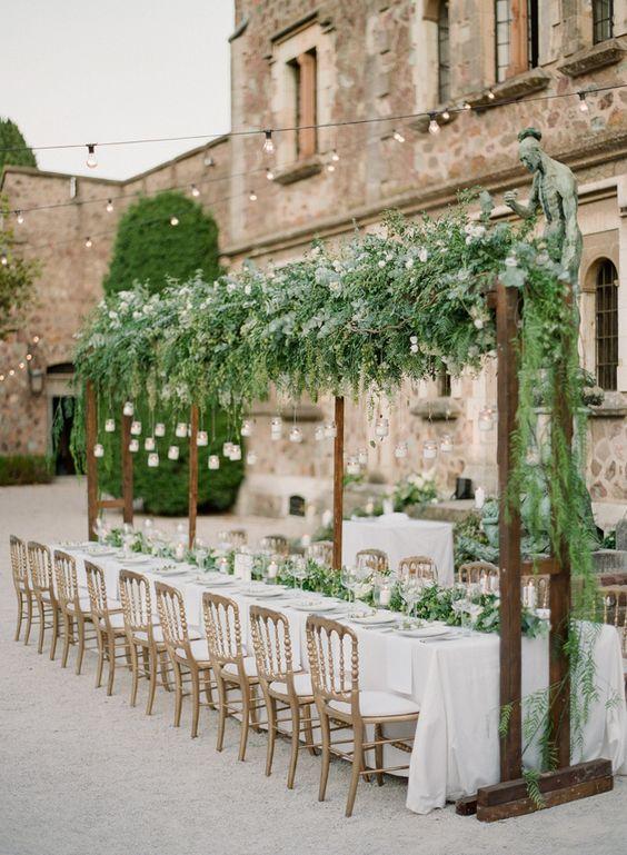 Tuscan wedding theme